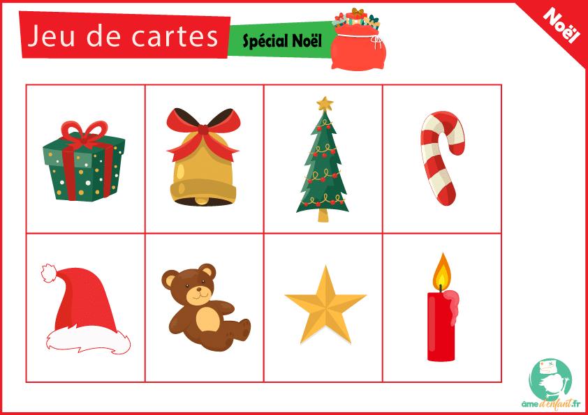Les Cartes A Jouer De Noel