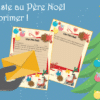 ma lettre au pere noel a imprimer