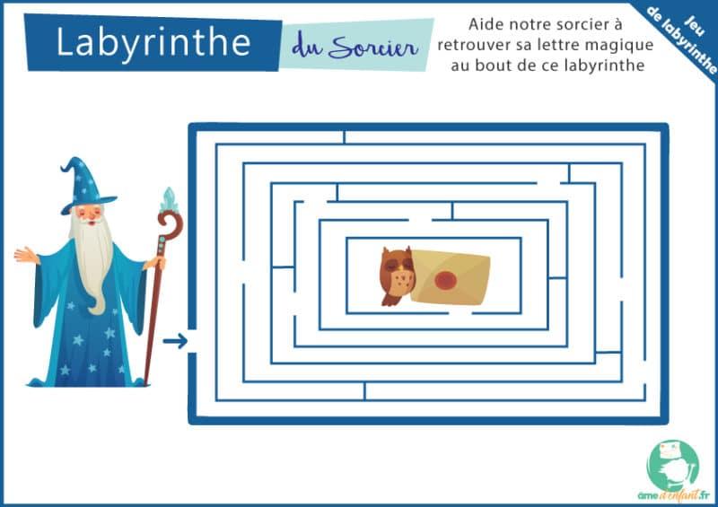 labyrinthe gratuit sur le theme de la magie