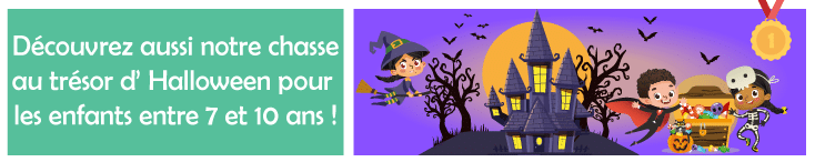 kit chasse aux tresors them halloween