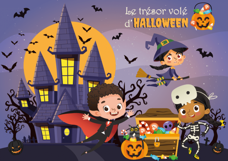chasse aux tresors d' Halloween