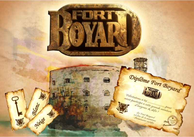 comment organiser un anniversaire fort boyard. Black Bedroom Furniture Sets. Home Design Ideas