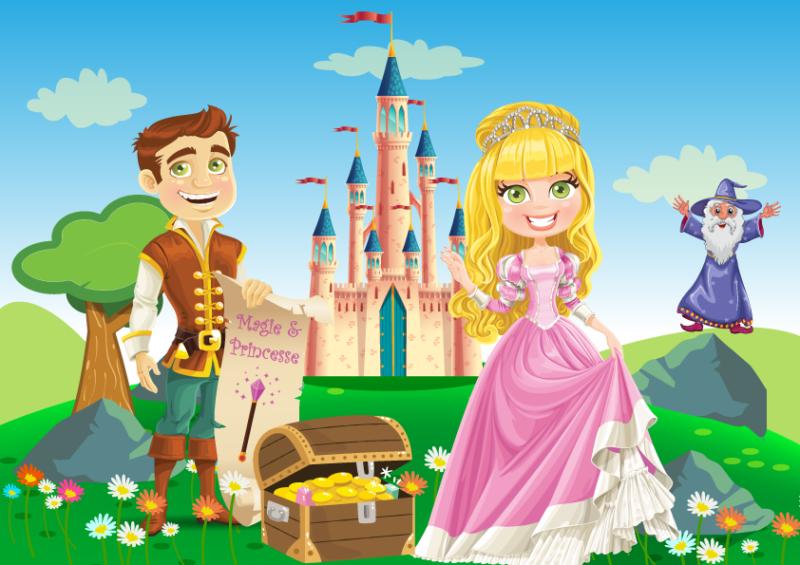 chasse au tresor princesse