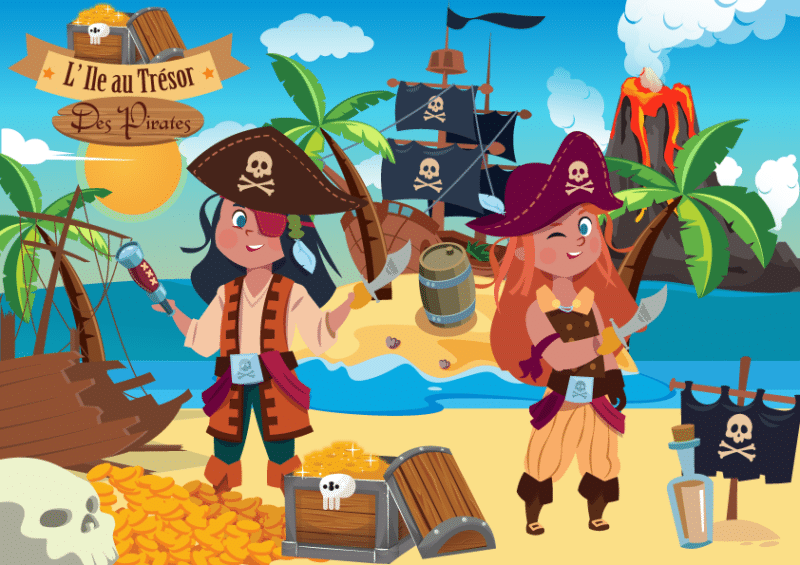 jeu activite pirate cle en main