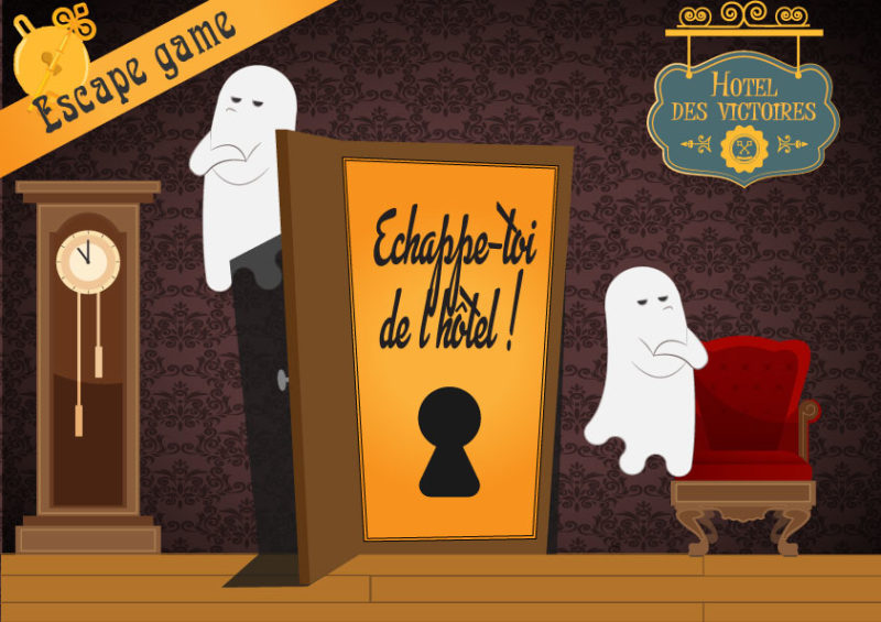 escape room enfant fantome