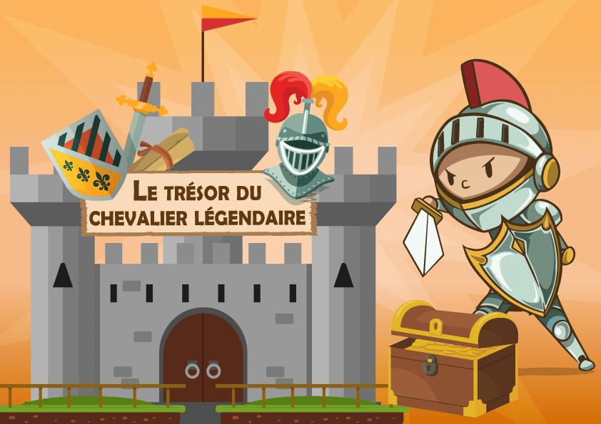 Le Tresor Du Chevalier Legendaire 4 6 Ans