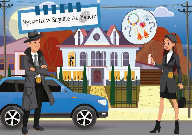 enigme policiere animation enfant