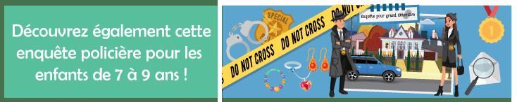 jeu enigme detective pour enfant