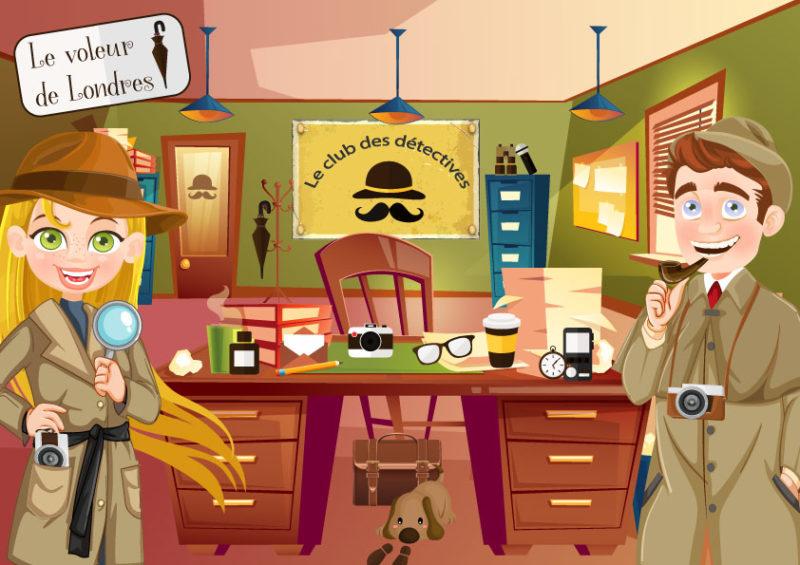 jeu enqigme enfant detective