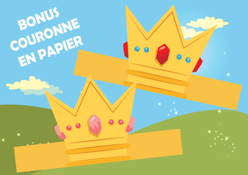 couronne princesse a imprimer