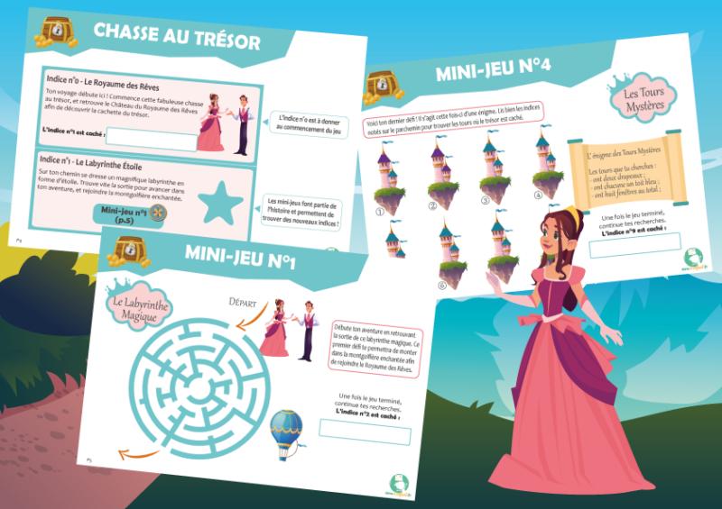 jeu animation princesse prince magie