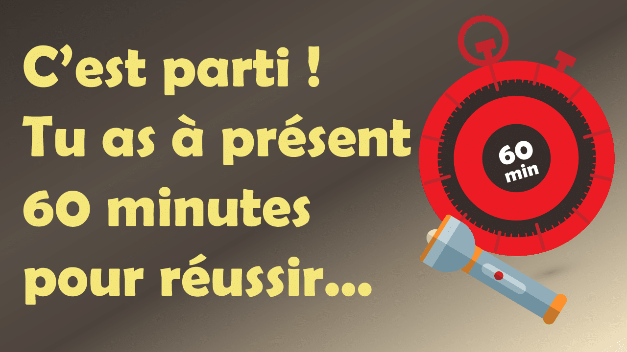 escape game enfant