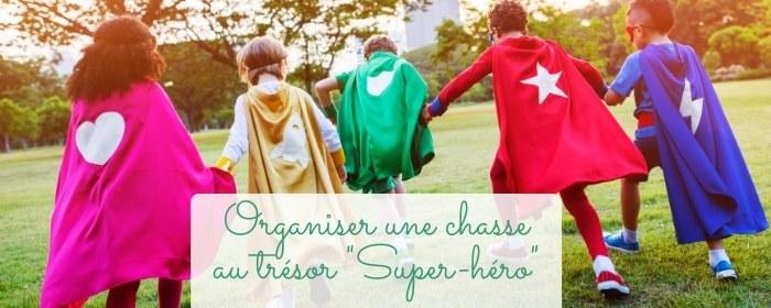 animer un jeu anniversaire super hero