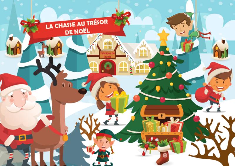 kit de jeu de Noël enfant
