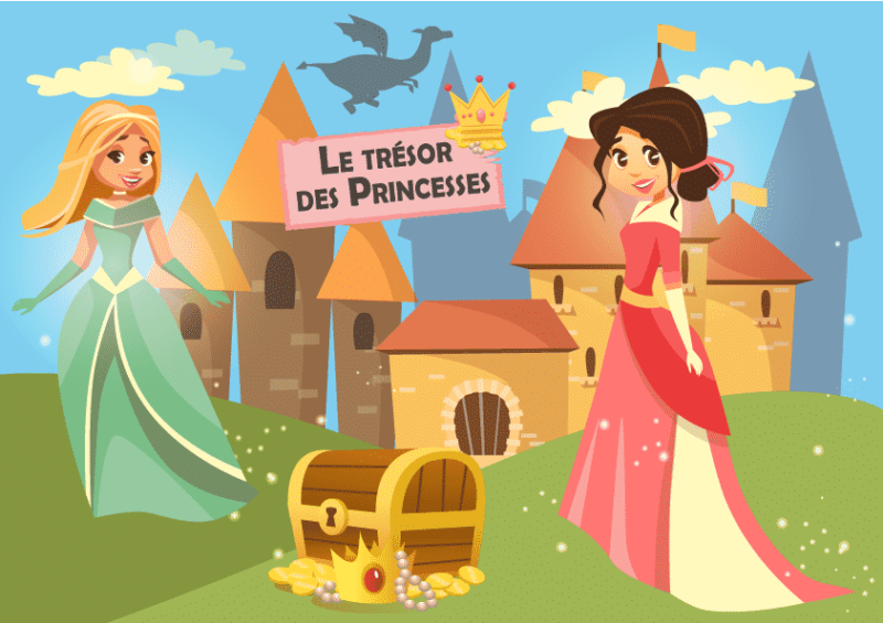 kit de jeu theme princesse