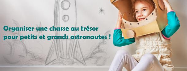 jeu astronaute espace pour anniversaire