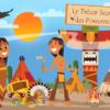 activite de chasse aux tresors thème indien d'amerique
