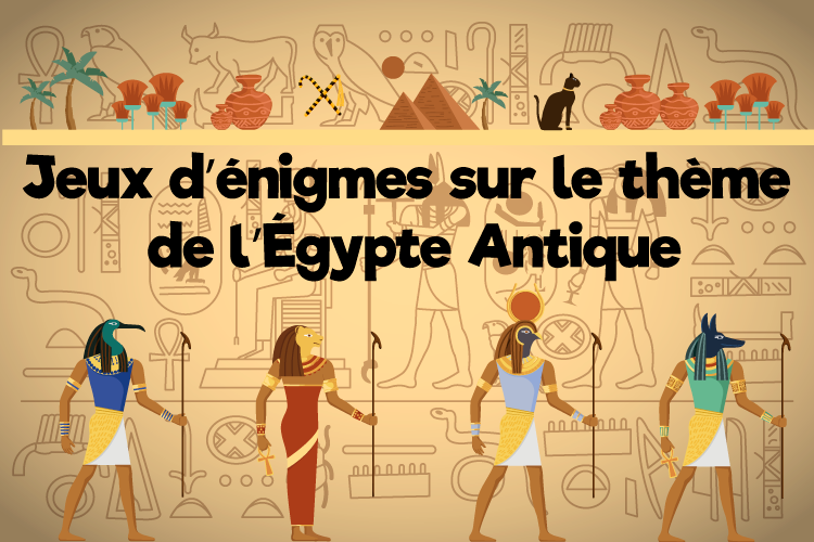 jeux enquetes sur theme egypte