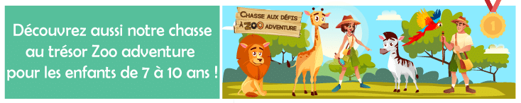 jeu educatif animaux du zoo