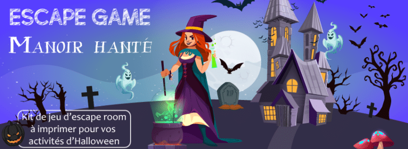 Comment animer facilement un escape room Halloween