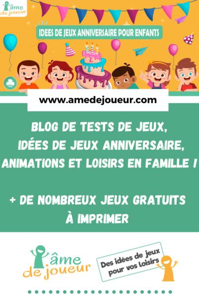 activites anniversaire pour animation enfant