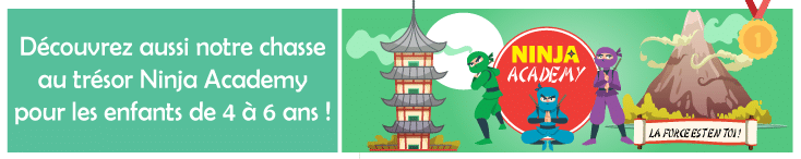 activite anniversaire enfant theme ninja