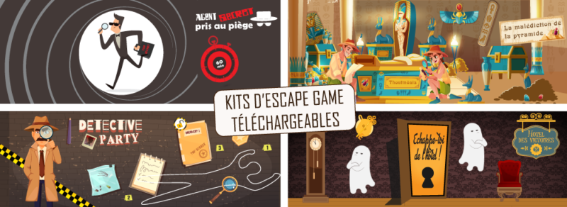 activite escape game a la maison