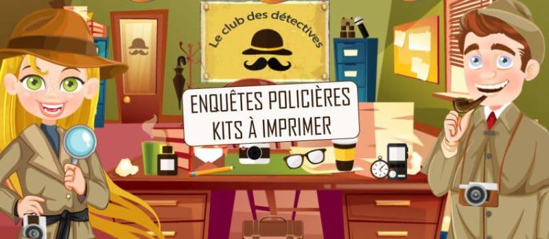 activite maison enquete policiere enfant