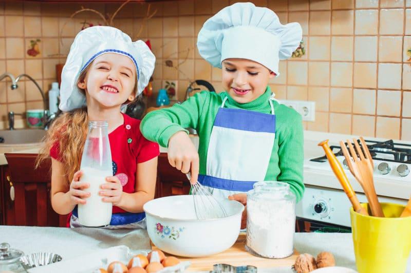 atelier cuisine pour occuper les enfants