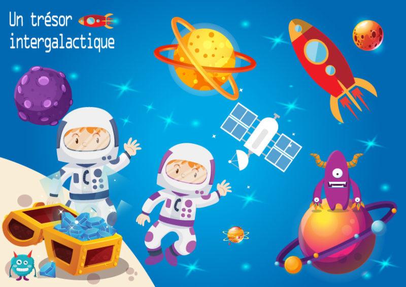 idee jeu enfant theme astronautes