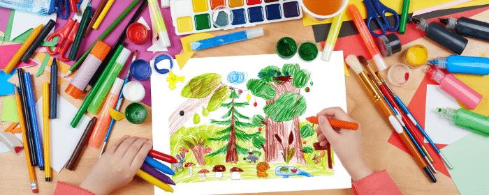 dessiner c'est gagner jeu pour enfant anniversaire