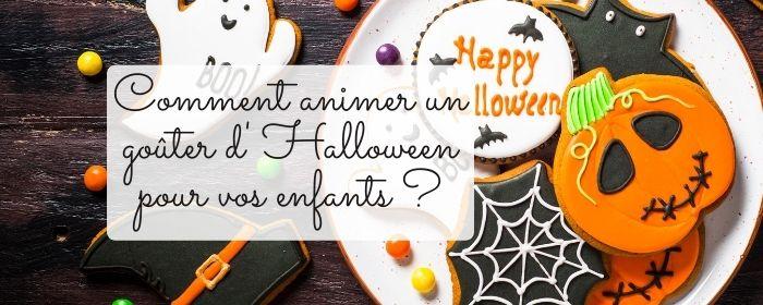 animer un gouter d'halloween pour vos enfants