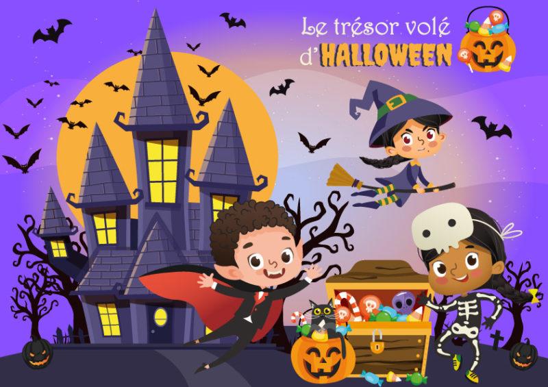 animation cle en main pour halloween