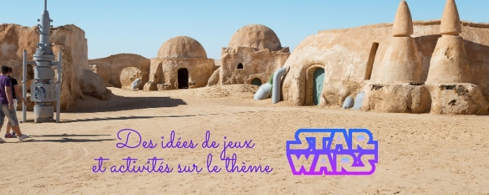 une anniversaire sur le theme star wars a la maison