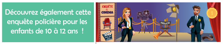 jeu enigme enfant cinema hollywood