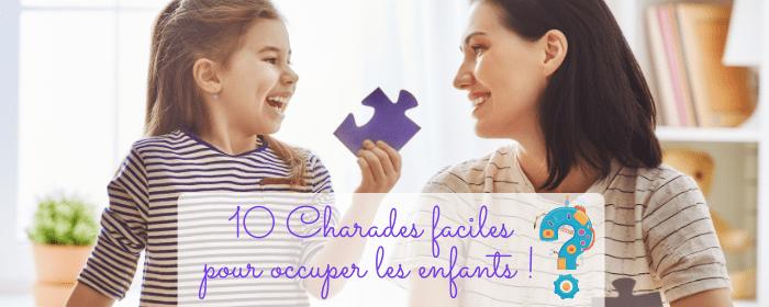 10 jeu de charade simples pour amuser les enfants