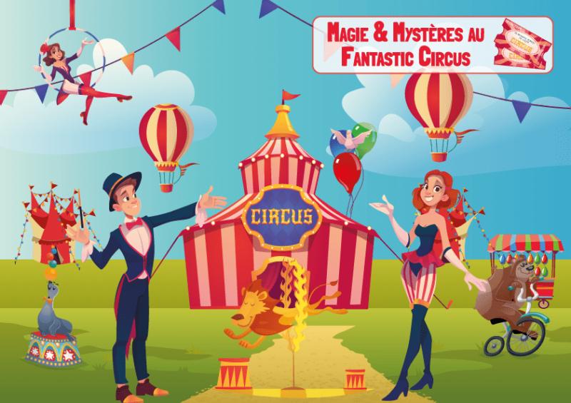 jeu d'enigme cirque anniversaire