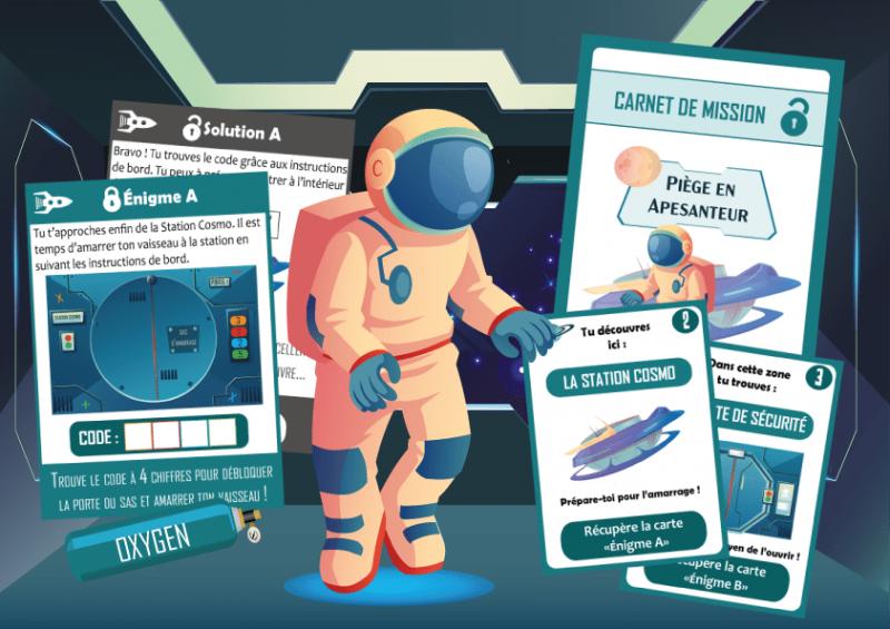 kit de jeu activite anniversaire espace