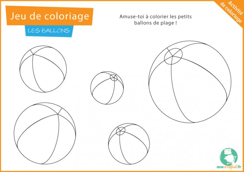 page coloriage plage gratuite