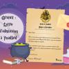lettre admission ecole sorcier harry potter